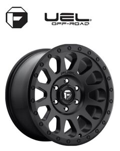 Fuel vector D579 wheels 17 X 8.5