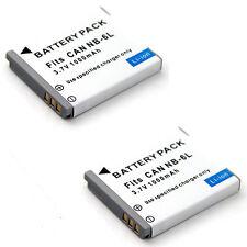 2x Battery For Canon PowerShot SX170 IS SX500 IS SX240 HS SX260 HS SX270 HS