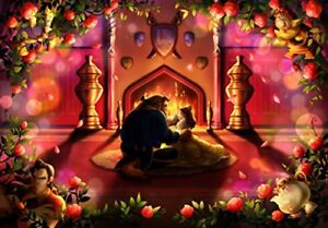 Tenyo Japan Jigsaw Puzzle Disney Beauty and the Beast (500 Pieces) DPG-500-595