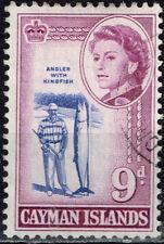 British Cayman Islands Fauna Marine Life Kingfish stamp 1950
