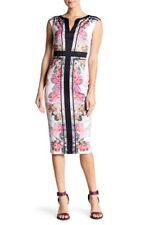Painted Posie Sheath Dress by Ted Baker London (size 2=4-6 US)