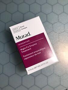 MURAD Night Fix Enzyme Treatment .17oz / 5ml Travel Size New  2019