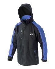 Daiwa NEW Softshell Fishing Jacket - BLUE / BLACK - All Sizes - NEW FOR 2018