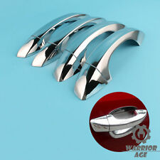 4Pcs Chrome Exterior Door Handle Cap Decor Fit VW GOLF MK7 PASSAT B7 2013 14 15
