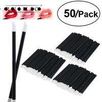 Disposable Lip Brush Gloss Lipstick Wands Makeup Brush Applicators Micro Brushes