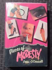1986 Pieces of MODESTY BLAISE by Peter O'Donnell 1st Mysterious HC/DJ VF+/VF