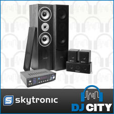 Skytronic 5.0 Home Theatre Surround Sound Speaker Pack with Karaoke Ampifiler