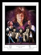 DAVID CASSIDY -1950 - 20017 -MONTAGE PRINT A3