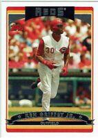 KEN GRIFFEY JR - 2006 Topps - (Card #387) - Reds - *BUY MORE & SAVE*