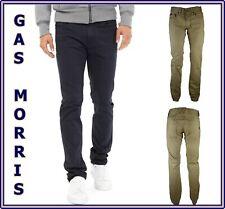 pantaloni jeans gas da uomo in cotone slim fit morris a gamba dritta w30 W32 W33
