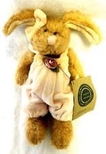 Collectible Boyds Bears J B Bean Bunny Rabbit Hare Pink Plush Baby Doll w/ Tags