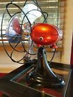 Vintage 1950's Westinghouse 'Cherry Bomb Red' Electric Fan Art Deco, Refurbished