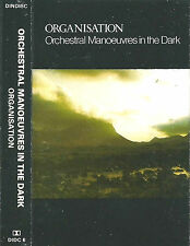 OMD ORCHESTRAL MANOEUVRES IN THE DARK ORGANISATION CASSETTE ALBUM Synth-pop Exp