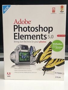 Adobe Photoshop Elements 5.0 Software & User Guide