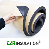 2m2 30mm Adhesive Backed Closed Cell Foam Car Van Insulation Sound Deadening