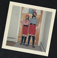 Vintage Photograph Two Young Boys Dressed As Pirates for Halloween - Costumes