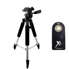 "Pro 57"" Compact Tripod + Wireless Remote for Canon SL1, 70D, 60D, 50D, T2, T1"