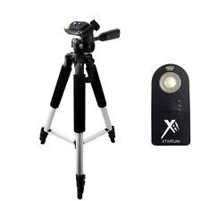 """Pro 57"""" Compact Tripod + Wireless Remote for Canon SL1, 70D, 60D, 50D, T2, T1"""