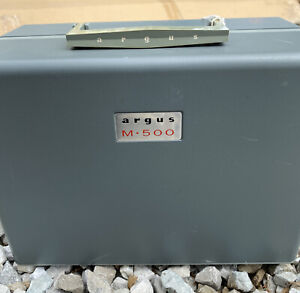 Vintage ~ARGUS M-500 8mm Film Projector  - New Condition