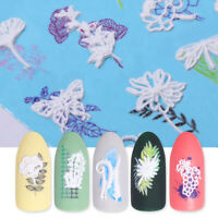 Nail Art Water Transfer Decals Stickers Flower Leaf Mixed Patterns Tips Decor