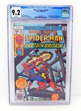 MARVEL TEAM-UP 65 CGC 9.2 Captain Britain / Spider-Man 1978 White Pages