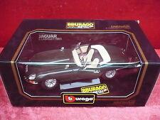 Nice Maquette de Voiture __Bburago__ Jaguar E Cabriolet 1961__ Métal 1:18