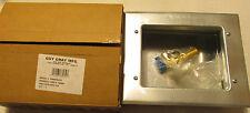 NEW Guy Gray IPS BIM875QTS 88039 Galvanized Ice Maker Outlet Box