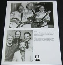 KINGSTON TRIO/STATLER BROTHERS—1990 PUBLICITY PHOTO