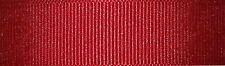 6mm Berisfords Cardinal Red Grosgrain Ribbon 20m Reel