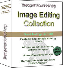 ProfessionaI Image Editing & Creation Software Suite For Windows/Mac Over 5 Apps