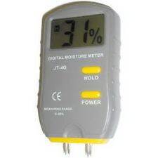 Digital Wood Moisture Meter Tester 4 PIN with LCD NEW