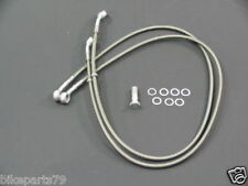 SPIEGLER Tubería de freno Flex Acero Set KAWASAKI ZZR 1100 AB '93 para SUPERBIKE