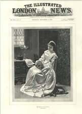 1894 Memory Of An Old Song Mandolin Eugen Klimsch