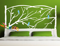 Wall Deco Decal Sticker Removable Headboard DC054 Full Size Queen Size Twin Size