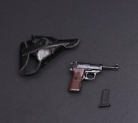 "1/6 Scale Weapons Accessories WWII Walther P38 With Holster F 12"" Action Figure"