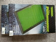 (2) Green Filter High Performance Air Filter for ford gt 40 supercar # 2397