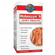 Wobenzym N 400 Tabs by Garden of Life