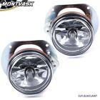 Fit For 07-10 Mercedes C300 C350 Clear Lens Front Bumper Fog Light Lamps+Bulbs