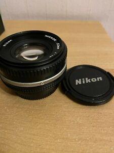 Nikon F Nikkor 50mm f1.8 AI-S Pancake