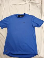 Nike Mens Medium Dri Fit T-shirt Blue