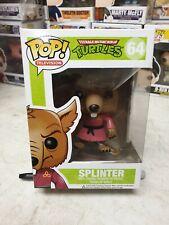 Funko POP! Vinyl #64 Splinter - TMNT FREE POP PROTECTOR Vaulted