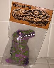 JAMES GROMAN RANCID RAPTOR PAINTED DCON 2016 SOFUBI KAIJU Rotten Rexx MVH #2