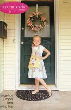 Angelica Jumper and Swing Top Girls Clothing Pattern MARIE-MADELINE STUDIO