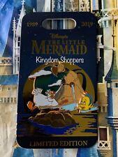 2019 Disney Parks PTN Little Mermaid 30th Anniversary Scuttle & Flounder Pin LE