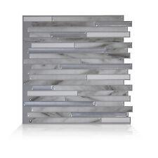 Smart Tiles SM1070-1 SELF-ADHESIVE WALL TILES 1/SHEET CAPRI CARRERA DUAL FINISH