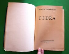 Fedra - G. D'Annunzio - Ed. Il Vittoriale degli Italiani 1940 - Edizione Lusso