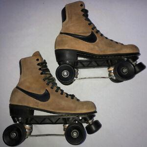 Vintage NIKE Men's Roller Skates ACS-430 Trucks RC Sports Bearings Ride Smooth