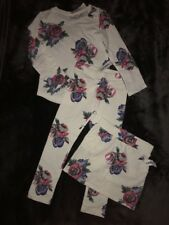 Brand New! Beautiful Old Navy Size 5T White Floral Cotton 3-Piece Set ~ NWT