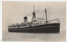 S.S. New Australia Shipping RP Postcard, B570