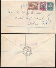 Sud Africa registrati 1948 le signore dell' Agenzia Busta..4 D + 1D + 1 / 2D franking